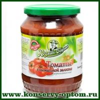 Томаты в томатной заливке стерилизованные