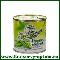 Горошек зелёный консервированный стерилизованный