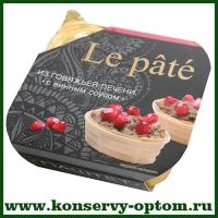 De la France паштет из говяжьей печени с винным соусом